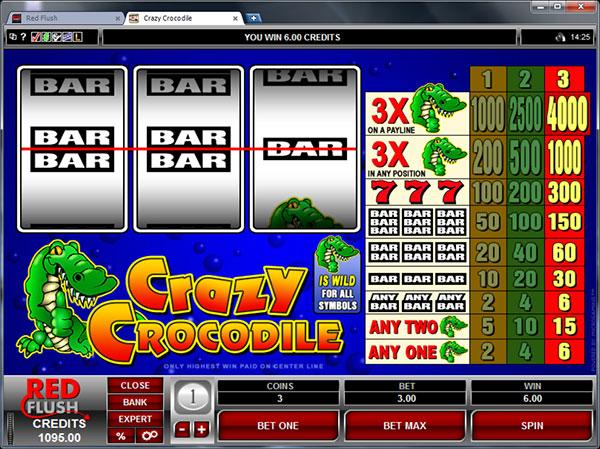 Crazy Crocodile Slots