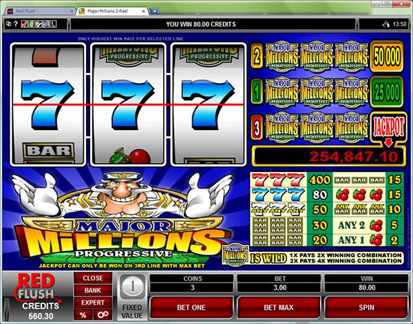 Major Millions Classic Slots