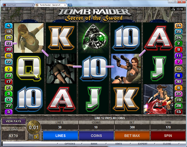free slot tomb raider